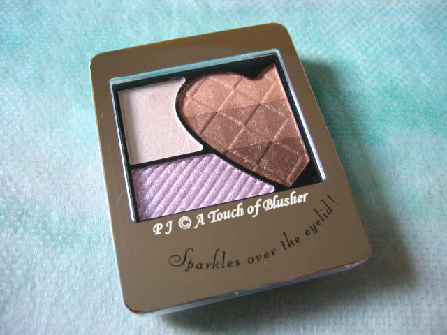 Shiseido Integrate Rainbow Grade Eyes BE303 Fall 2010 Makeup 1