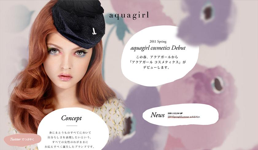 Aquagirl Spring 2011 Makeup 1