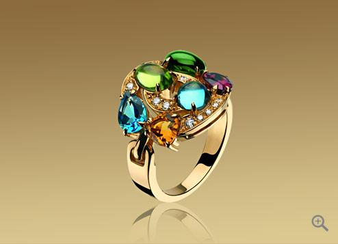 Bulgari Astrale Shield Design Ring 1