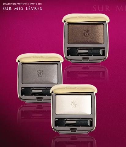Guerlain Spring 2011 Makeup Trend Ombre Eclat One Shade Eyeshadow 1