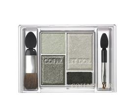 Kanebo Coffret D'Or Spring 2011 Makeup Trend Eyes Appeal Shadow 03 Clear Silver 1