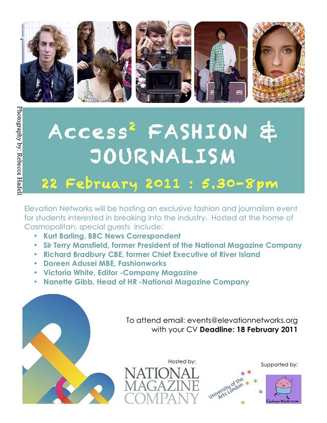 Access 2 Fashion and Journalism 2011 1