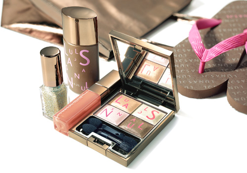 Kanebo Lunasol Summer Kit 2011 Makeup 1