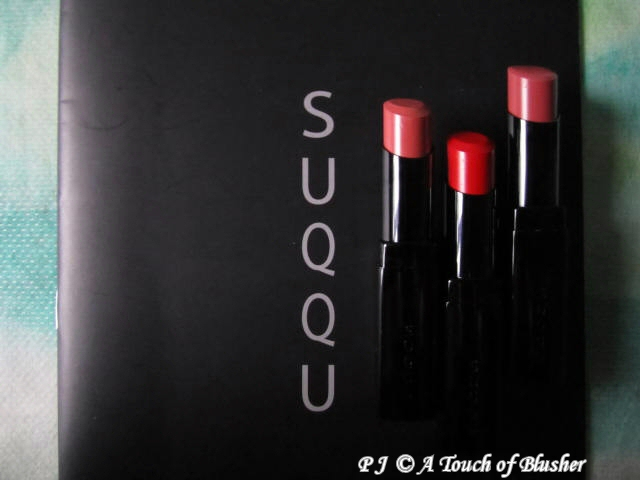 SUQQU Creamy Glow Lipsticks Fall 2010 Makeup 1