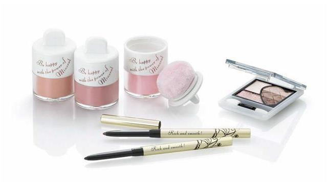 Shiseido Integrate Fall 2011 Makeup 1