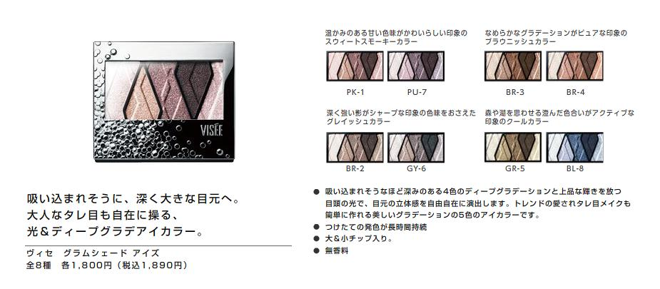 Kose Visee Glam Shade Eyes Spring 2011 Makeup 4