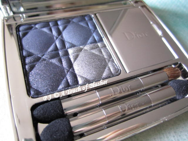 Dior Blue-Tie 001 Smoking Blue Fall 2011 Makeup 2