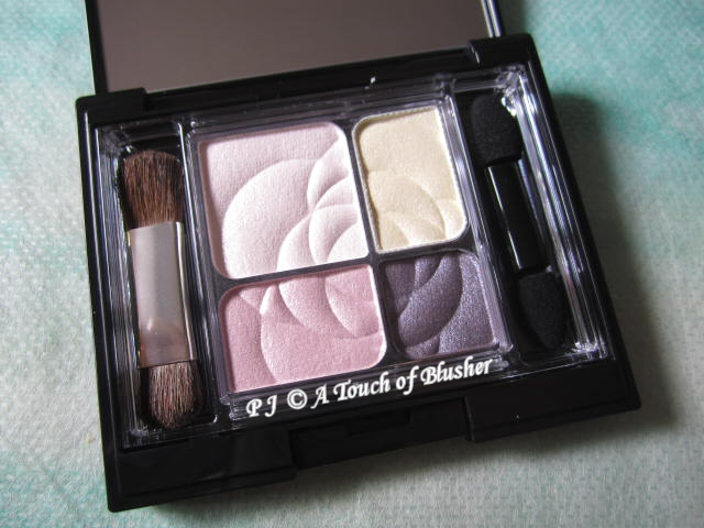 Kanebo Coffret d'Or 3D Glossy Eyes 04 Pink Violet 1