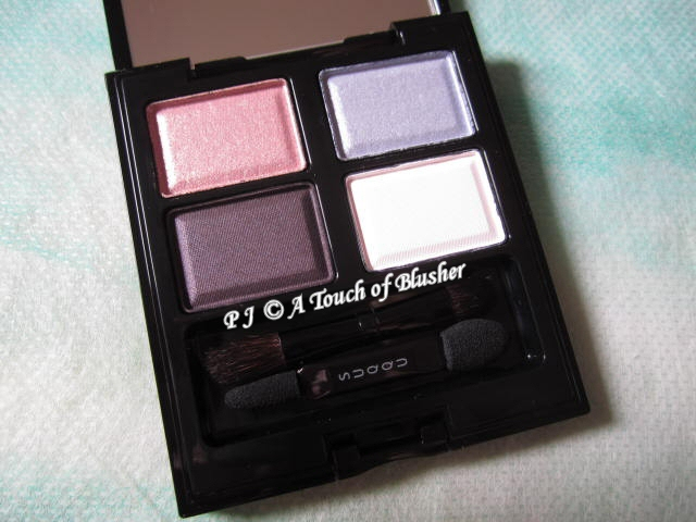 SUQQU Blend Color Eyeshadow 08 Mizuaoi Fall 2011 Makeup 1
