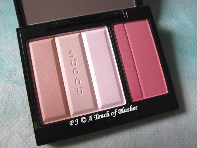 SUQQU Face Color Palette EX-01 Fall 2011 Makeup 1