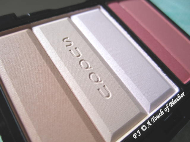 SUQQU Face Color Palette EX-01 Fall 2011 Makeup 2