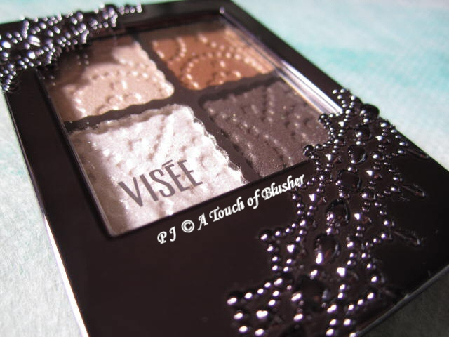 Kose Visee Glam Glow Eyes BR-3 Fall 2011 Makeup 2