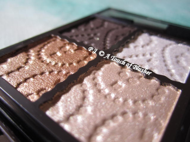 Kose Visee Glam Glow Eyes BR-3 Fall 2011 Makeup 4