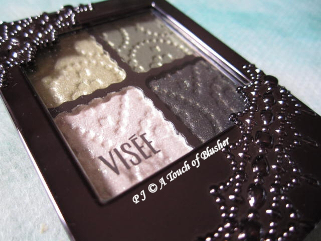 Kose Visee Glam Glow Eyes GR-4 Fall 2011 Makeup 2