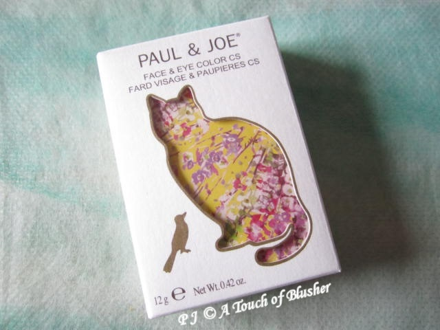 Paul and Joe Face and Eye Color CS 078 Purr-fect Spring 2012 Makeup 2