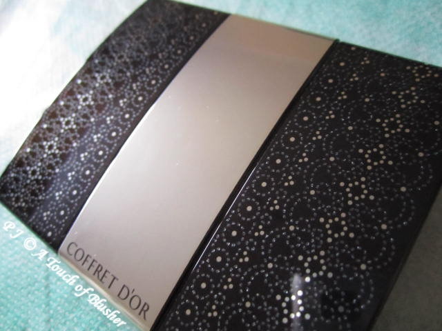 Kanebo Coffret d'Or Wide Gradation Eyes 04 Deep Brown Spring 2012 Makeup 3