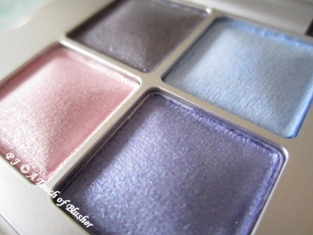 RMK Ingenious Natural Eyes 07 Purple Spring 2012 Makeup 2