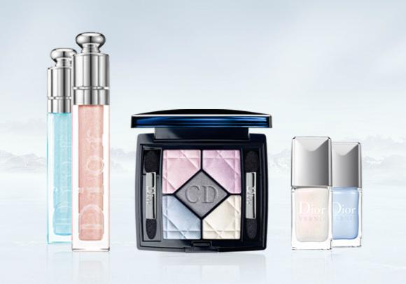 Dior Diorsnow Icy Halos Color Collection Spring 2012 Makeup 1