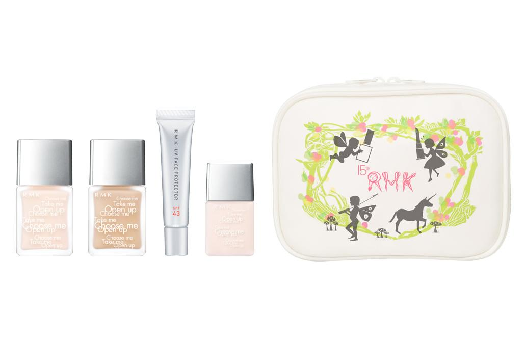 RMK 15th Anniversary Collection Base Makeup Kit Spring 2012 Base Makeup 1
