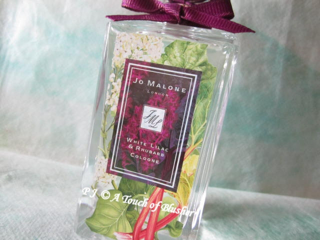 Jo Malone White Lilac and Rhubarb Cologne London Blooms Spring 2012 1