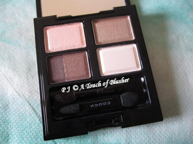 SUQQU Blend Color Eyeshadow 10 Kozuecha Spring 2012 Makeup 1