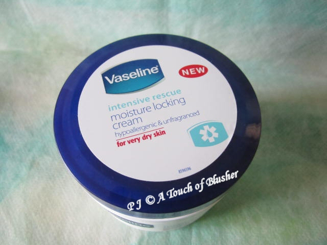 Vaseline Intensive Rescue Moisture Locking Cream 1