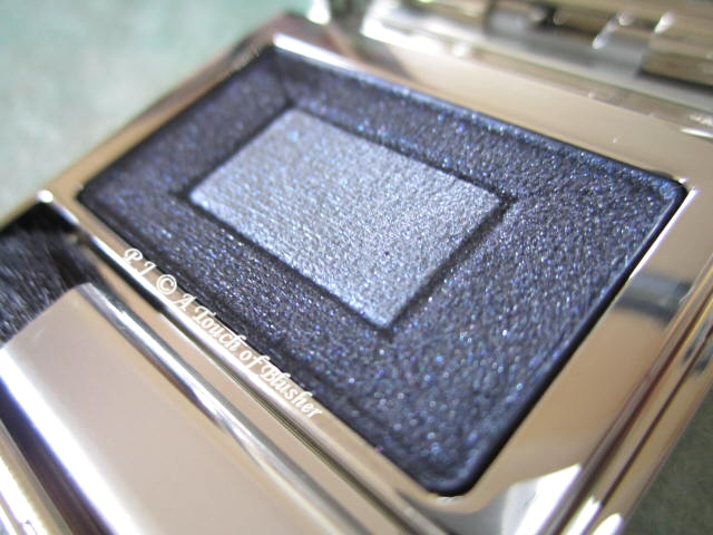 RMK Deep Iridescent Eyes 03 Iridescent Navy Fall 2012 Makeup 2