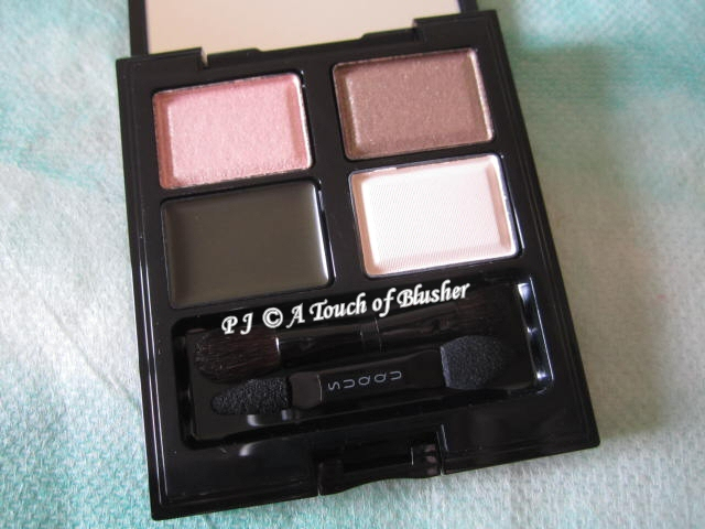 SUQQU Blend Color Eyeshadow 14 Kosumosuiro Fall 2012 Makeup 1