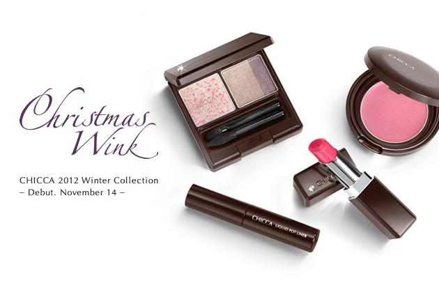 Kanebo Chicca Holiday 2012 Makeup 1