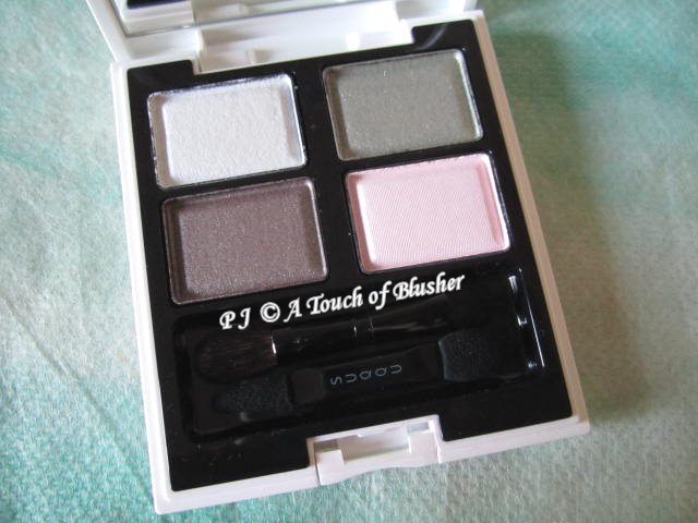 SUQQU Blend Color Eyeshadow EX-12 Hisuidama Spring 2013 Makeup 1