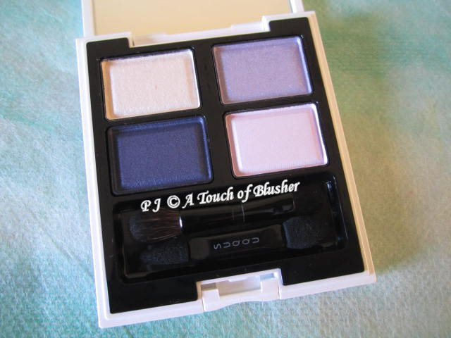 SUQQU Blend Color Eyeshadow EX-14 Ruridama Summer 2013 Makeup 1