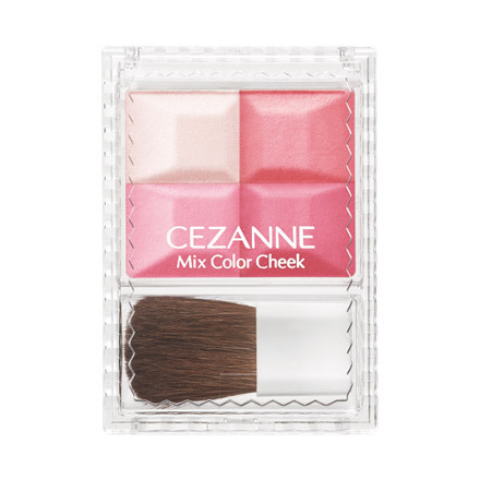 Cezanne Mix Color Cheek Fall 2013 Makeup 1
