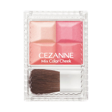 Cezanne Mix Color Cheek Fall 2013 Makeup 2