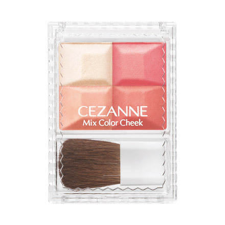 Cezanne Mix Color Cheek Fall 2013 Makeup 3