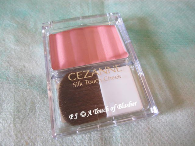 Cezanne Silk Touch Cheek 01 Pink Fall 2012 Makeup 1