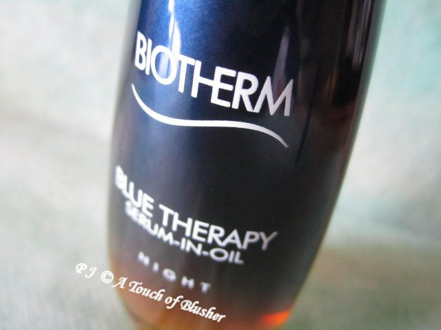 Biotherm Blue Therapy Serum-in-Oil Night Fall 2013 Skincare 1
