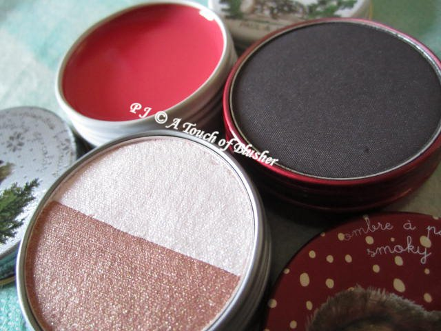 Paul and Joe Eye Color and Lip Balm Set Holiday 2012 Makeup 2