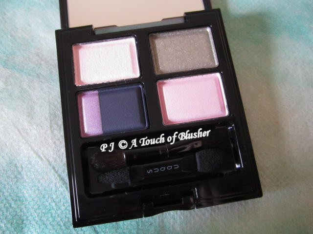 SUQQU Blend Color Eyeshadow EX-17 Hatsushimo Fall 2013 Makeup 1