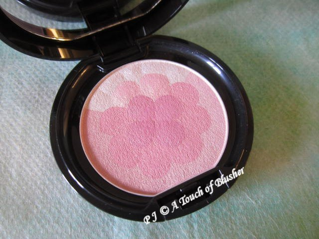 Kao Sofina Aube Couture Designing Puff Cheek 424 Rose Summer 2013 Makeup 1