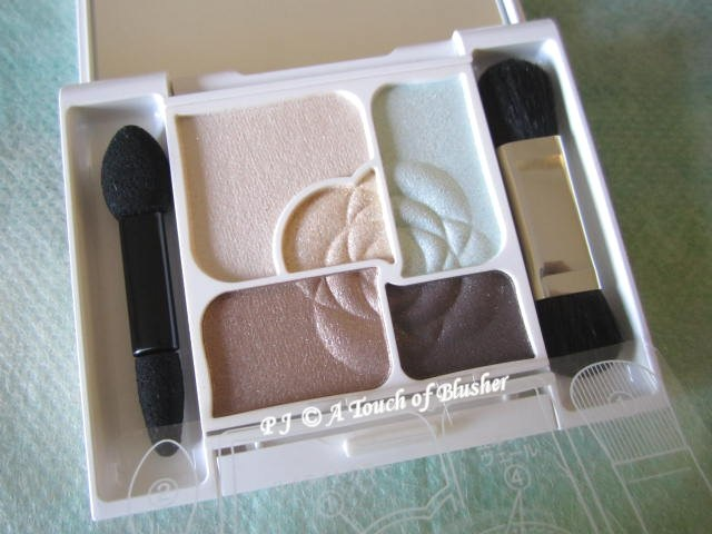 Kanebo Coffret d'Or 3D Gradation Eyes 02 Mint Brown Late Summer Early Fall 2013 Makeup 1