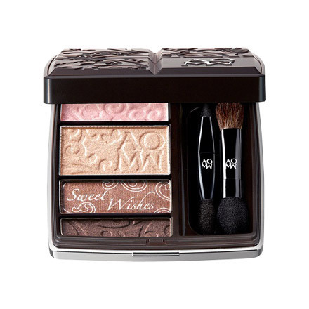 Kose Cosme Decorte AQ MW Holiday 2014 Makeup 2