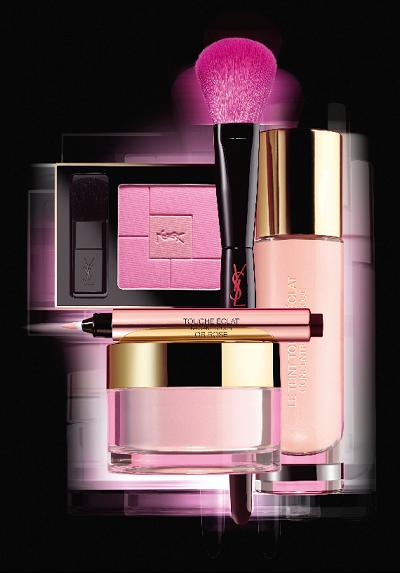 YSL Rose Glow Collection Summer Fall 2014 Makeup 1