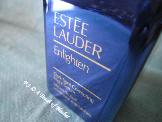 Estee Lauder Enlighten Dark Spot Correcting Night Serum Fall Winter 2014 Skincare 1