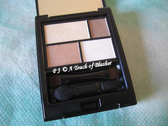 Etvos Mineral Eye Color Palette Chocolate Beige Fall 2012 Makeup 1