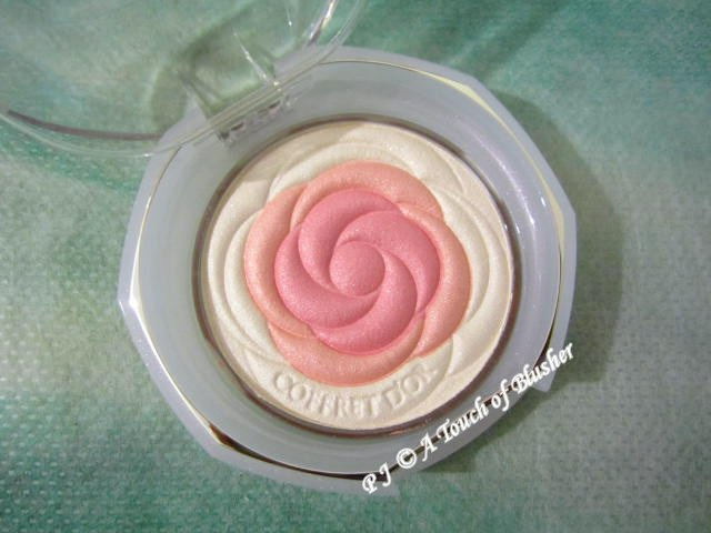Kanebo Coffret dOr Smile Up Cheeks 05 Coral Pink Spring 2013 Makeup 1