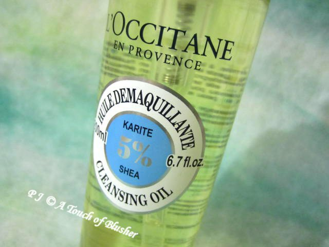 L'Occitane Shea Cleansing Oil Spring Summer 2015 Skincare 1