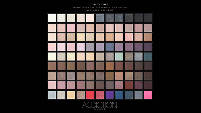 Addiction Fall 2015 Makeup 1