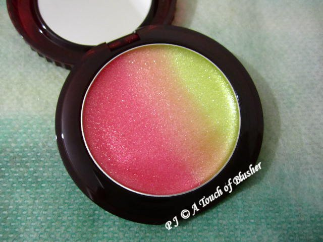 Paul and Joe Lip Gloss M 002 Strawberry Kiwi Summer 2015 Makeup 1