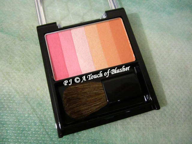 Shiseido Integrate Milky Flower Cheeks 1 Flower Pink Holiday 2013 Makeup 1