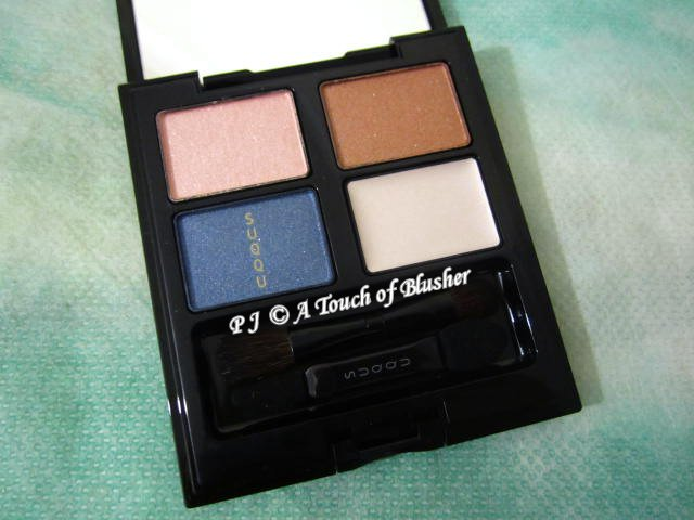 SUQQU Blend Color Eyeshadow EX-26 Yuuaoi Fall 2015 Makeup 1
